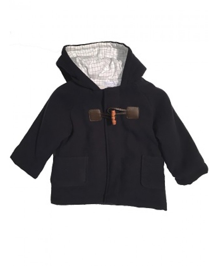 Laranjinha unisex winter coat navy
