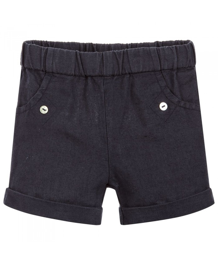 Laranjinha linnen jongens short navy NEW COLLECTION
