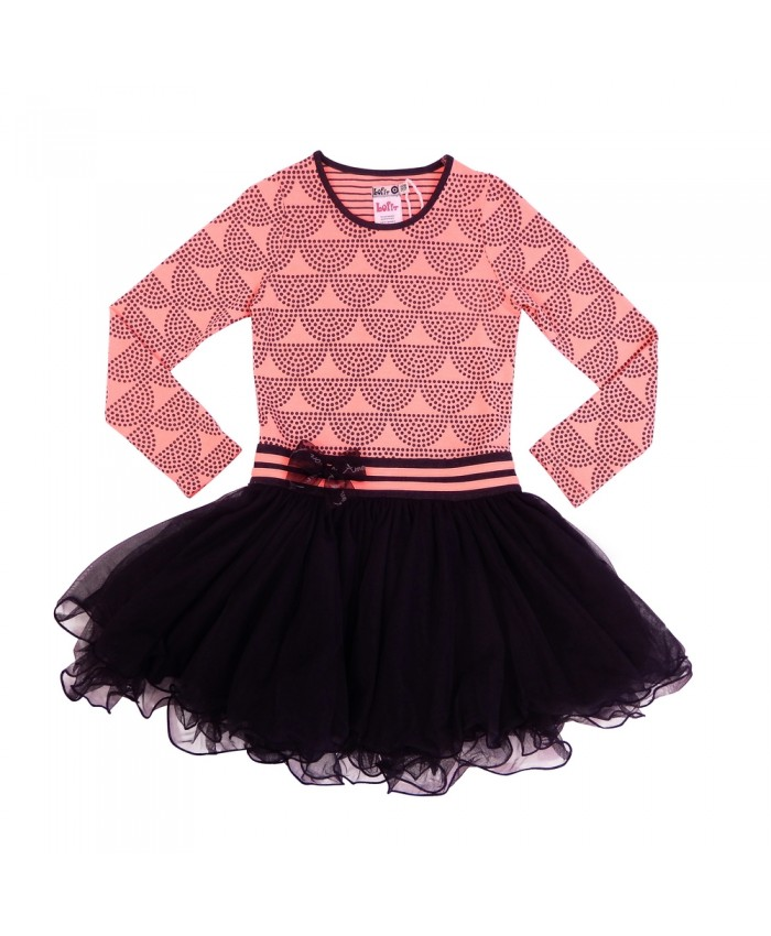 Loff Dancing dress Dots Peach