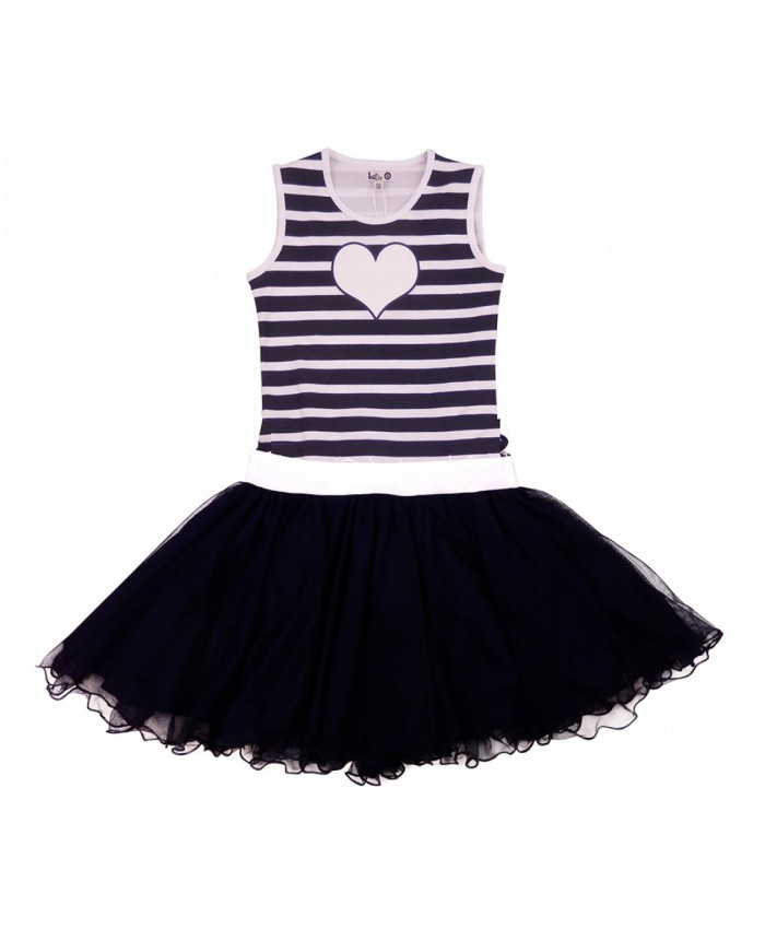 LoFff  Dancing Dress Blue Stripes