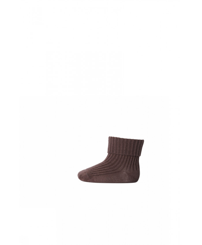 MP.Denmark  Anklesocks Brown Sienna