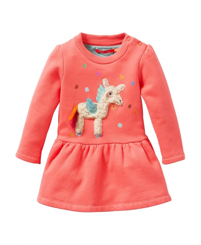 Oilily Dress hupp sweater coral