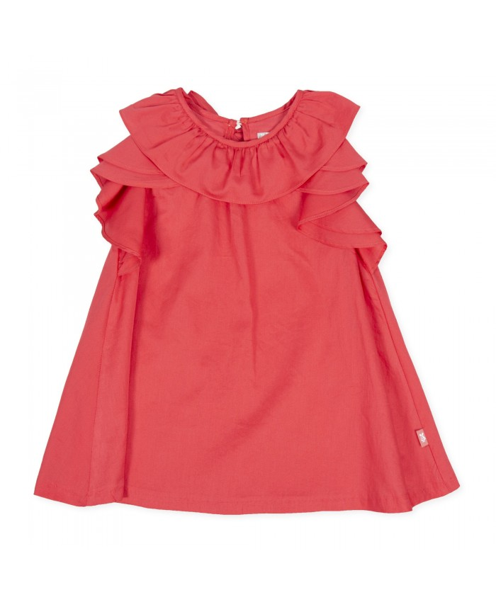 Tutto Piccolo Sin Mangras Dress Fresa Strawberry