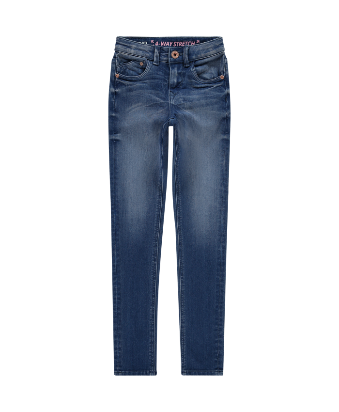 Vingino Kids  Girls Jeans Bella Electric Blue