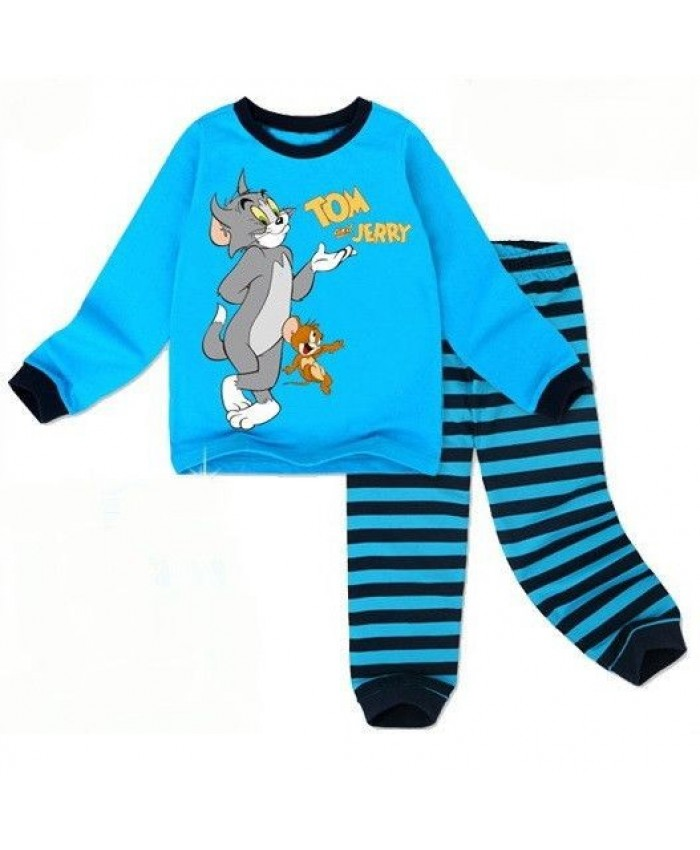 Tom & Jerry pyama bleu
